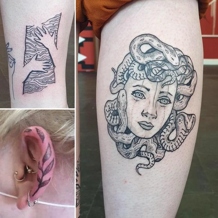 24 tatuagens minimalistas que são o equilíbrio ideal entre ousado e elegante 5