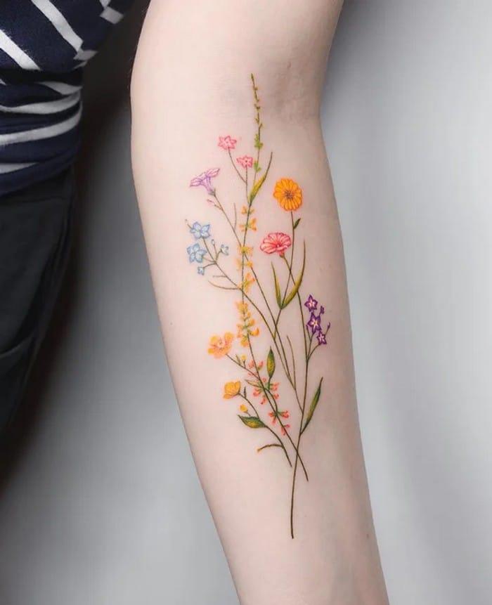 24 tatuagens minimalistas que são o equilíbrio ideal entre ousado e elegante 20