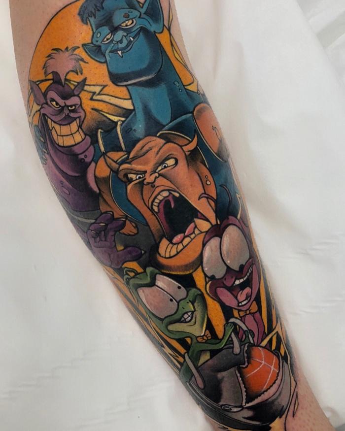 25 tatuagens para quem quer usar seus personagens favoritos na pele 7