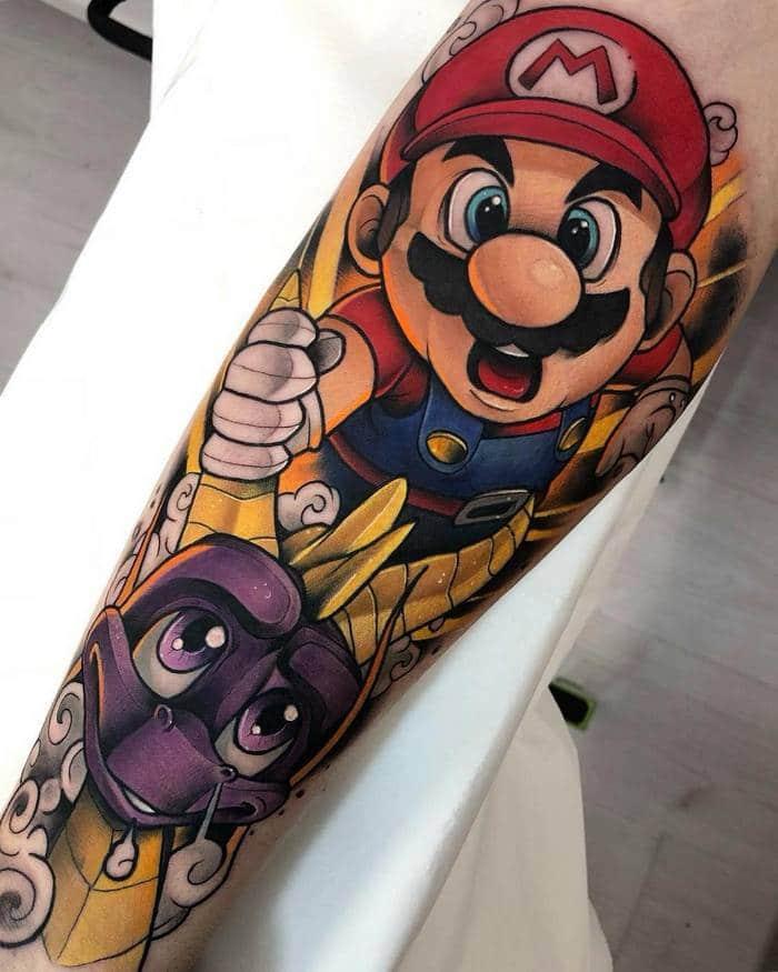 25 tatuagens para quem quer usar seus personagens favoritos na pele 15