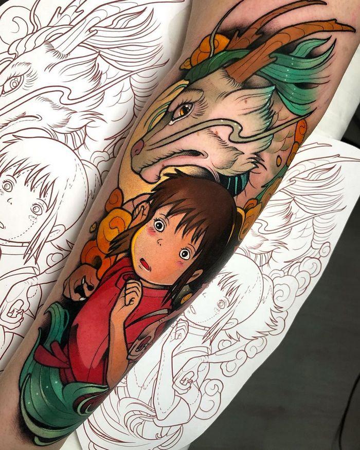 25 tatuagens para quem quer usar seus personagens favoritos na pele 25