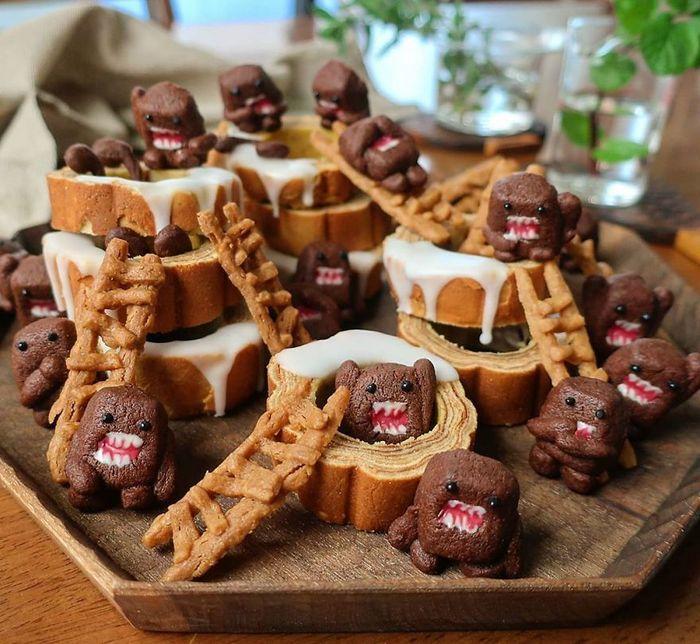 Uma mãe no Japão surge com refeições incrivelmente criativas para seus filhos 2