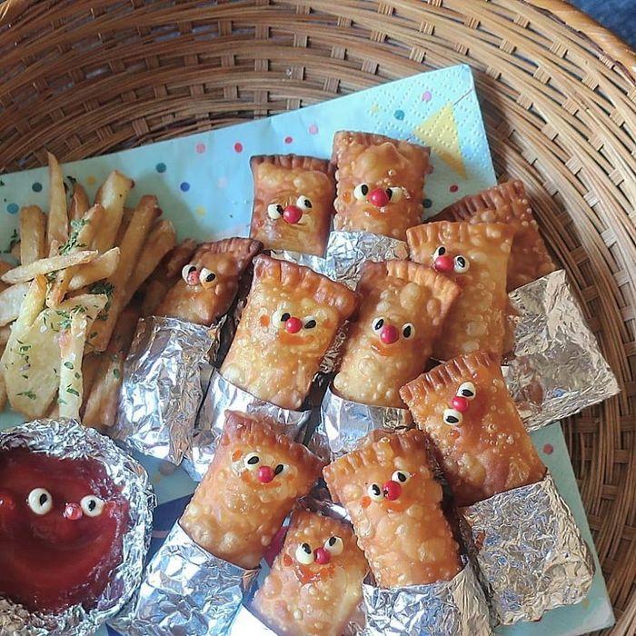 Uma mãe no Japão surge com refeições incrivelmente criativas para seus filhos 8