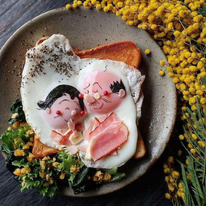 Uma mãe no Japão surge com refeições incrivelmente criativas para seus filhos 10