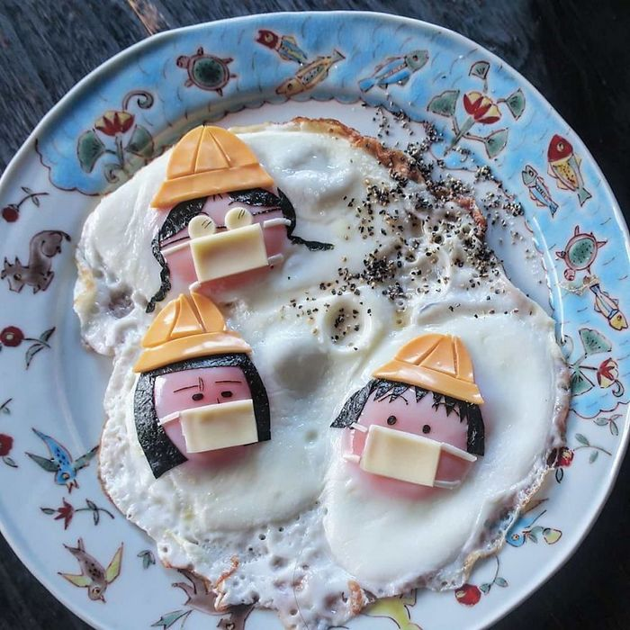 Uma mãe no Japão surge com refeições incrivelmente criativas para seus filhos 13
