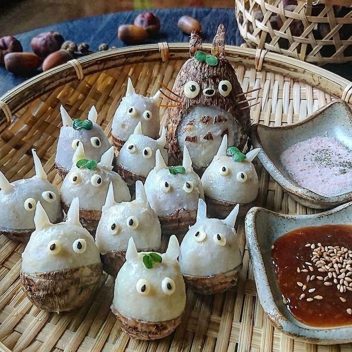 Uma mãe no Japão surge com refeições incrivelmente criativas para seus filhos 17