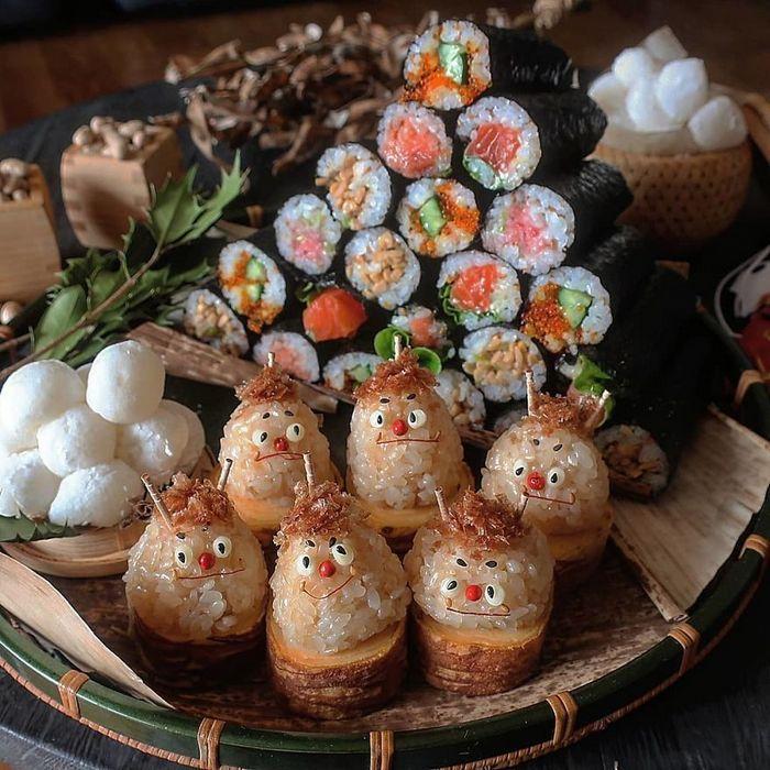 Uma mãe no Japão surge com refeições incrivelmente criativas para seus filhos 19