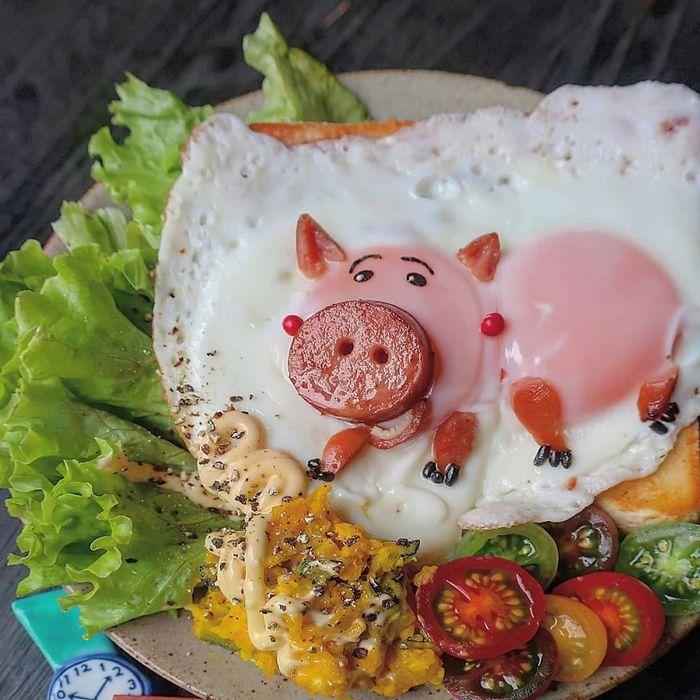 Uma mãe no Japão surge com refeições incrivelmente criativas para seus filhos 27