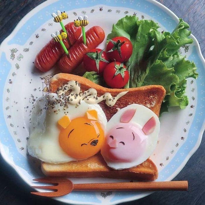 Uma mãe no Japão surge com refeições incrivelmente criativas para seus filhos 29