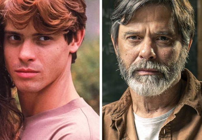 Antes e agora dos atores da novela Pantanal 3