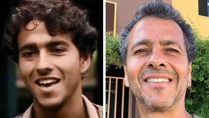 Antes e agora dos atores da novela Pantanal 6
