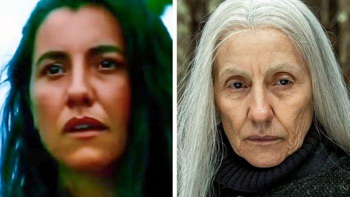 Antes e agora dos atores da novela Pantanal 8