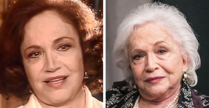 Antes e agora dos atores da novela Pantanal 10