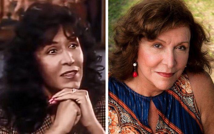 Antes e agora dos atores da novela Pantanal 12