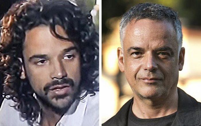 Antes e agora dos atores da novela Pantanal 13