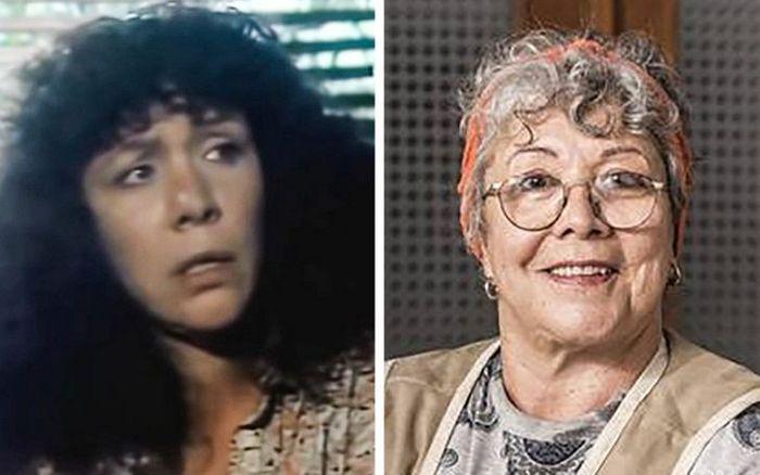 Antes e agora dos atores da novela Pantanal 14