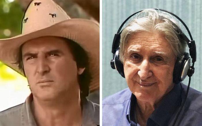 Antes e agora dos atores da novela Pantanal 16