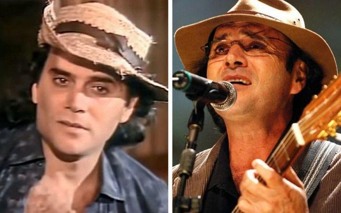 Antes e agora dos atores da novela Pantanal 17
