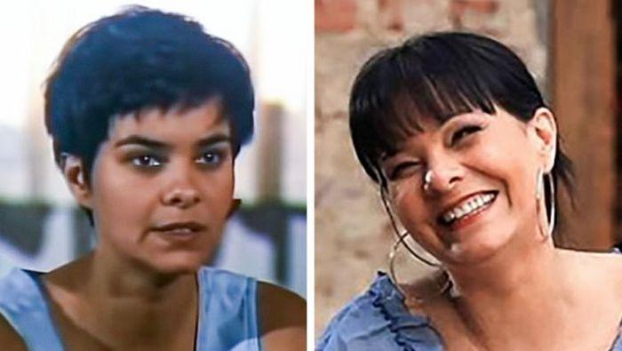 Antes e agora dos atores da novela Pantanal 19