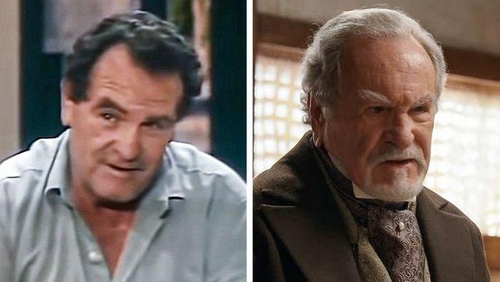Antes e agora dos atores da novela Pantanal 22