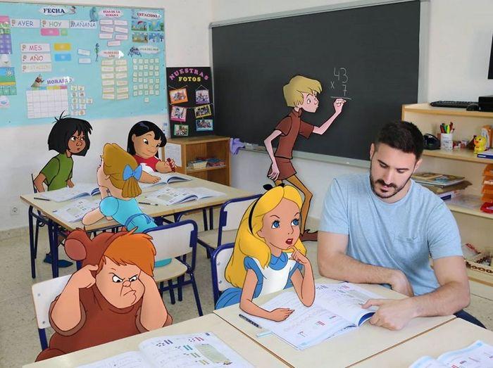 Artista adiciona personagens da Disney em suas fotos e o resultado é incrível 5