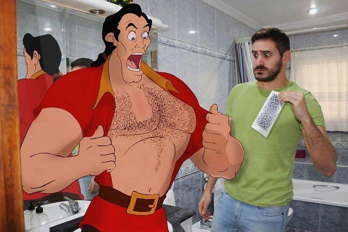Artista adiciona personagens da Disney em suas fotos e o resultado é incrível 10