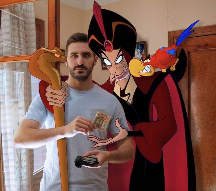 Artista adiciona personagens da Disney em suas fotos e o resultado é incrível 13