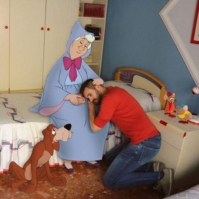Artista adiciona personagens da Disney em suas fotos e o resultado é incrível 21