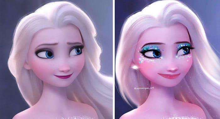 Artista reimagina personagens da Disney como mulheres e homens modernos 4