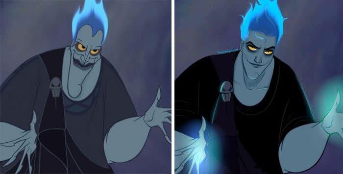 Artista reimagina personagens da Disney como mulheres e homens modernos 26