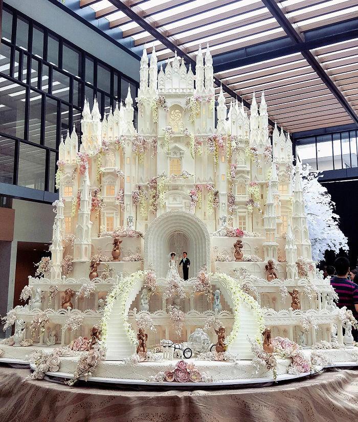 40 bolos de casamento criativos que parecem tão bons que roubaram o show 8
