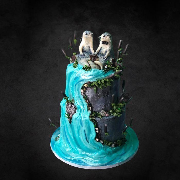 40 bolos de casamento criativos que parecem tão bons que roubaram o show 9
