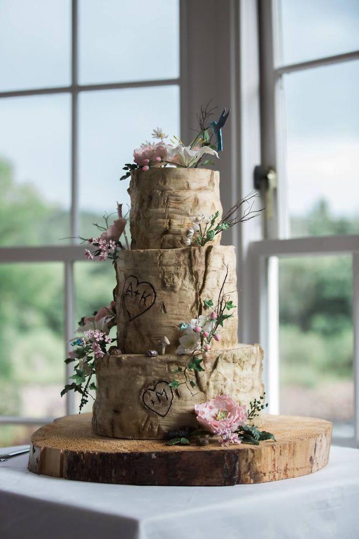 40 bolos de casamento criativos que parecem tão bons que roubaram o show 11