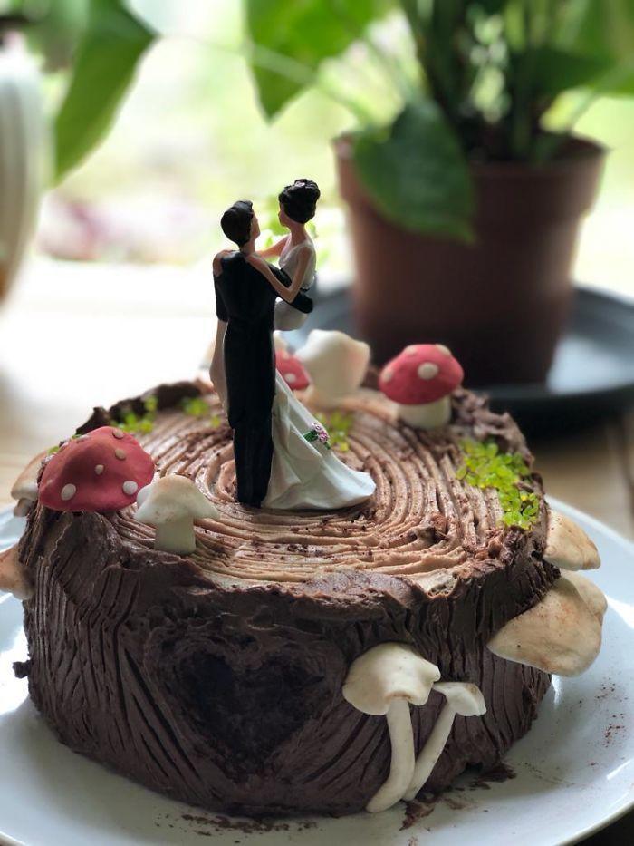 40 bolos de casamento criativos que parecem tão bons que roubaram o show 12