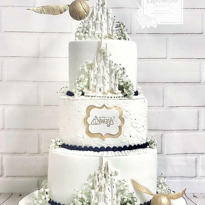 40 bolos de casamento criativos que parecem tão bons que roubaram o show 13