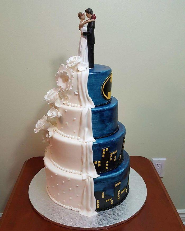 40 bolos de casamento criativos que parecem tão bons que roubaram o show 14