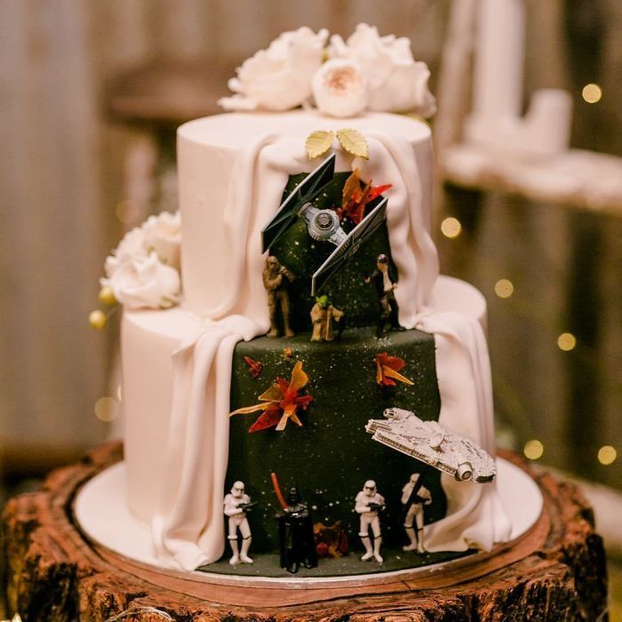 40 bolos de casamento criativos que parecem tão bons que roubaram o show 15