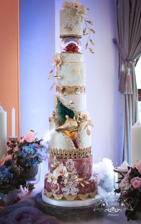 40 bolos de casamento criativos que parecem tão bons que roubaram o show 16