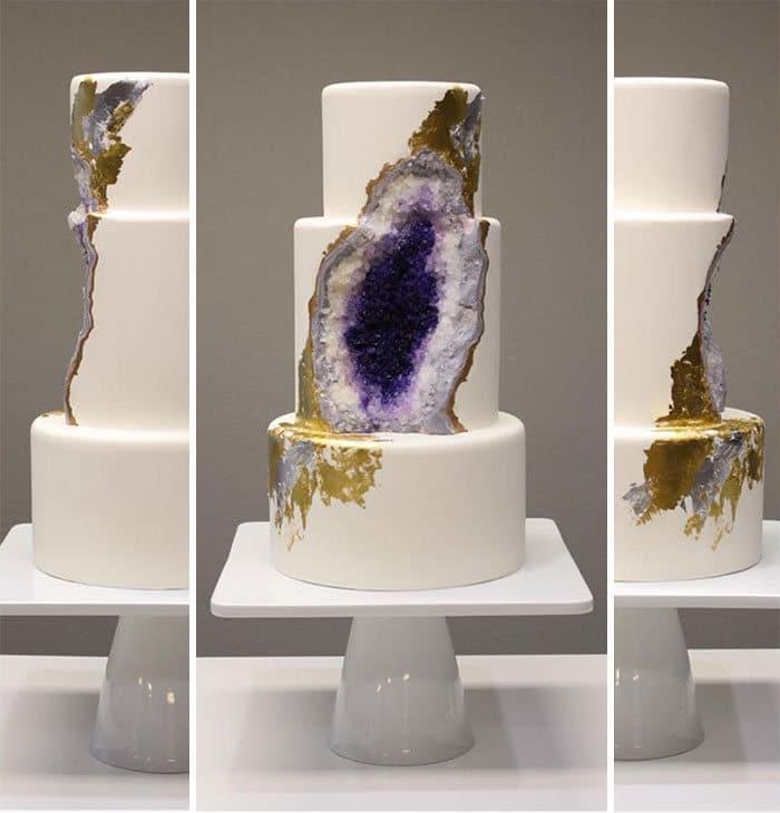 40 bolos de casamento criativos que parecem tão bons que roubaram o show 19