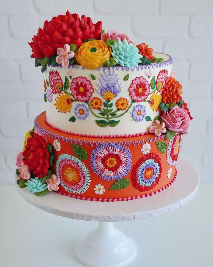 40 bolos de casamento criativos que parecem tão bons que roubaram o show 27