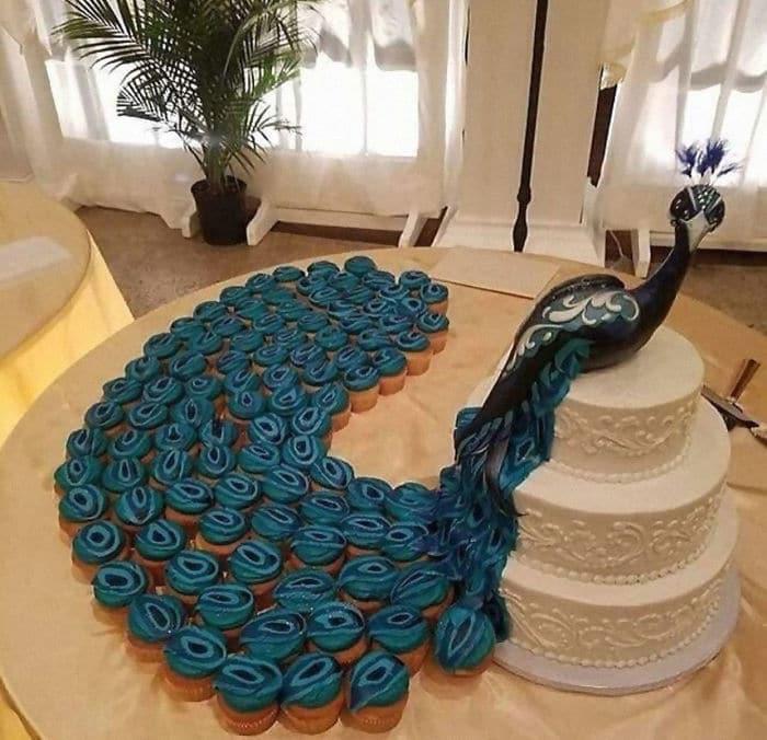40 bolos de casamento criativos que parecem tão bons que roubaram o show 28