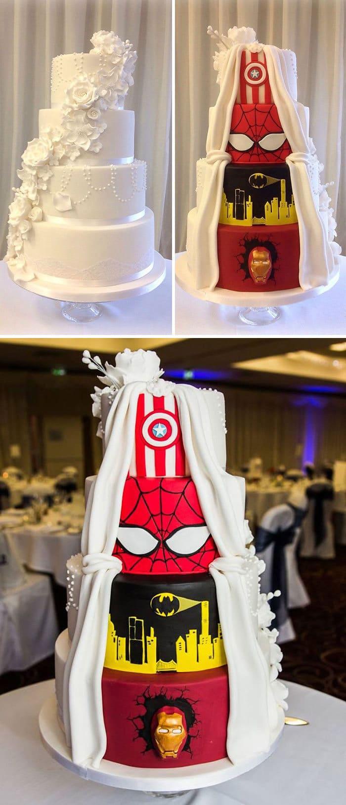 40 bolos de casamento criativos que parecem tão bons que roubaram o show 29