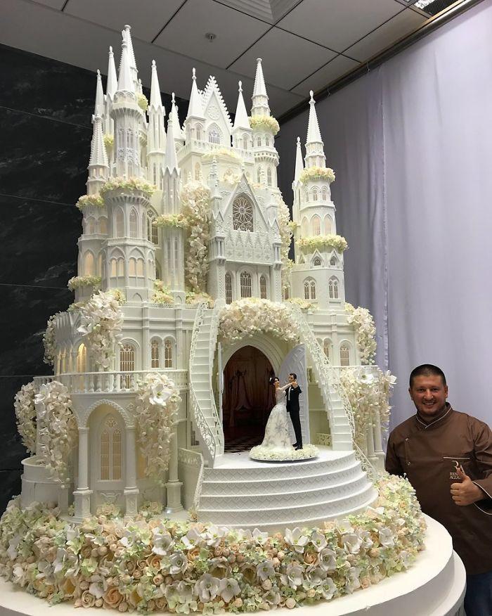 40 bolos de casamento criativos que parecem tão bons que roubaram o show 31