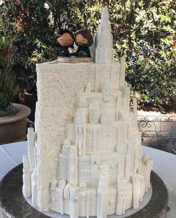 40 bolos de casamento criativos que parecem tão bons que roubaram o show 34
