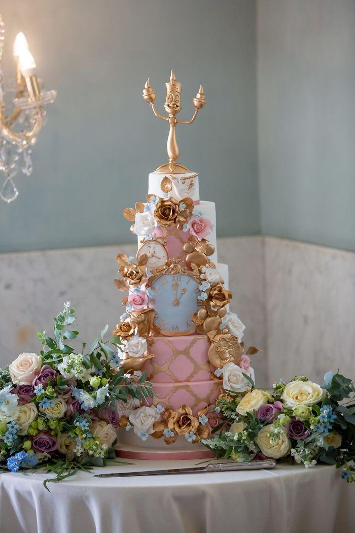 40 bolos de casamento criativos que parecem tão bons que roubaram o show 35