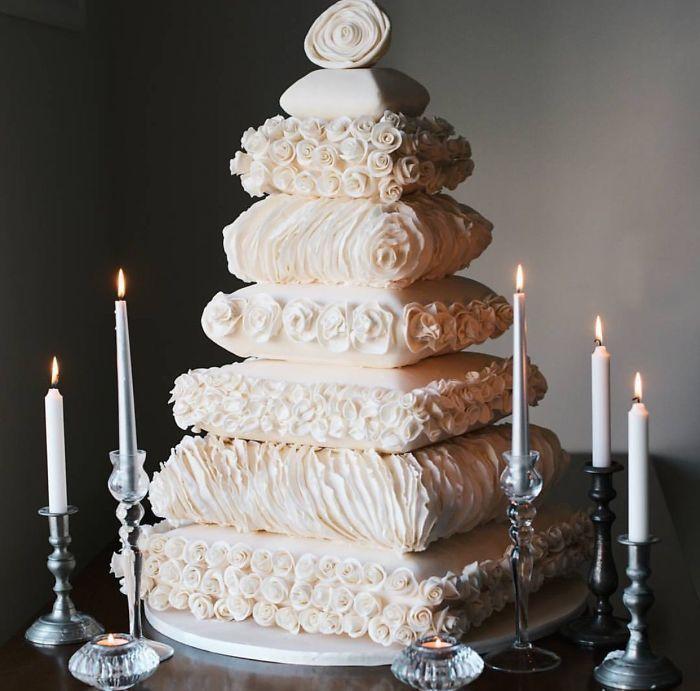 40 bolos de casamento criativos que parecem tão bons que roubaram o show 36