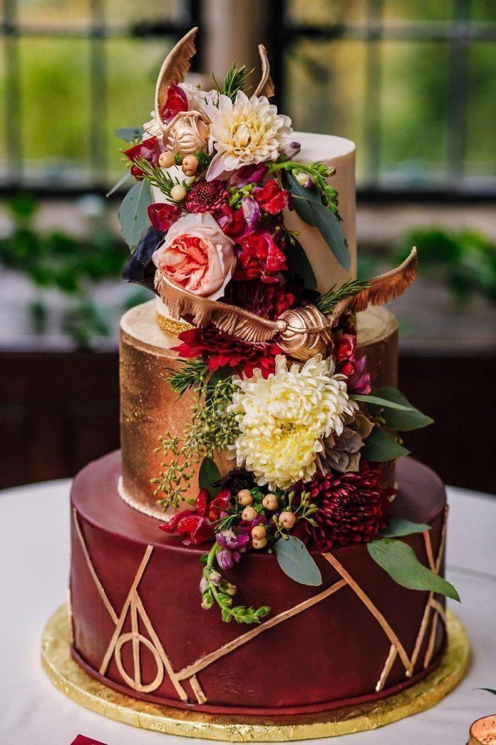 40 bolos de casamento criativos que parecem tão bons que roubaram o show 37