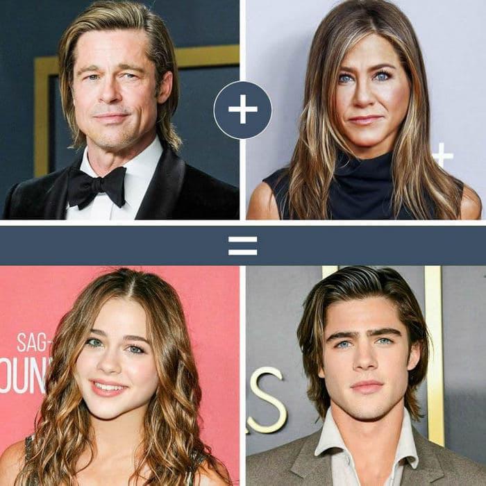 Como seriam os filhos de casais famosos de filmes e séries populares 2