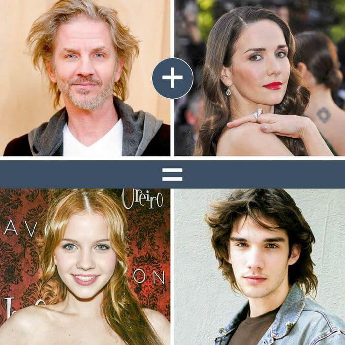 Como seriam os filhos de casais famosos de filmes e séries populares 3
