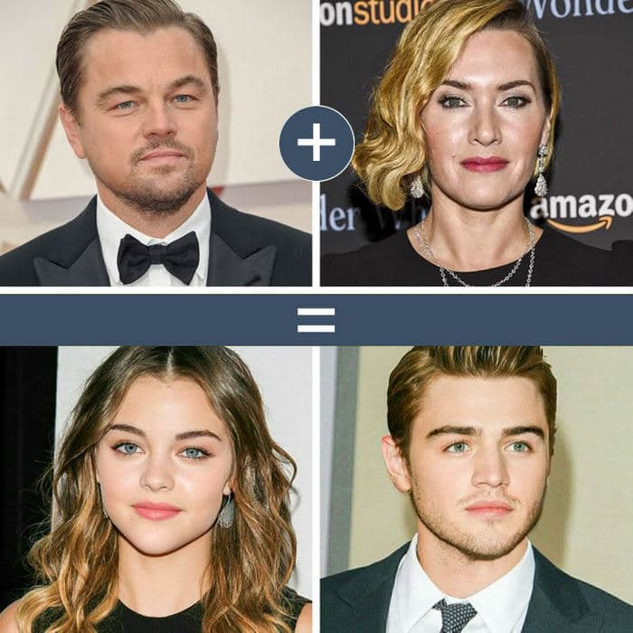 Como seriam os filhos de casais famosos de filmes e séries populares 4